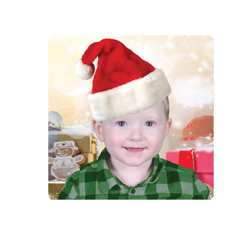 Kindy Christmas Magnet