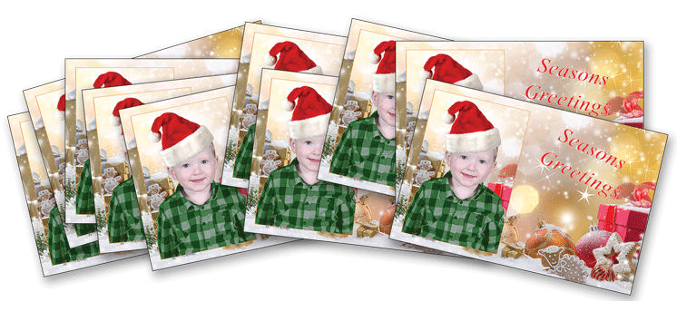 Kindy Christmas Postcards