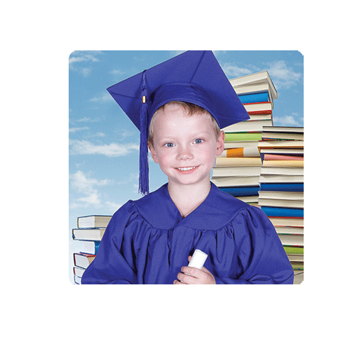 Kindy Graduation Magnet