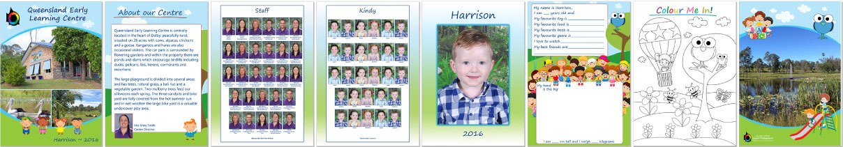 Kindy Class Booklet