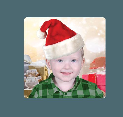 Kindy Christmas Magnet