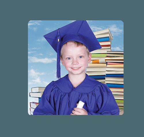 Kindy Graduation Magnet